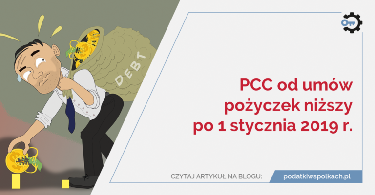 Pcc od umów pożyczek